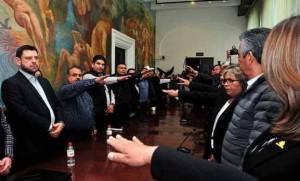 TOMA DE  PROTESTA DE JUNTA DE CONCILIACION